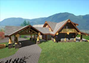 Arrowhead | Summit Handcrafted Log Homes