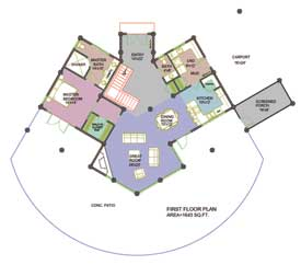 Arrowhead Main Floor Plan
