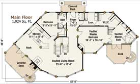 Blue Ridge Main Floor Plan