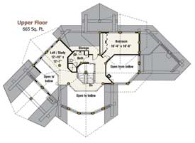 Blue Ridge Upper Floor Plan