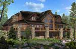 Strongwood Log Home Co. | Journey's End