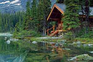Lakeside cabin