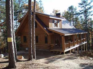 Little Pioneer | Log Homes Canada