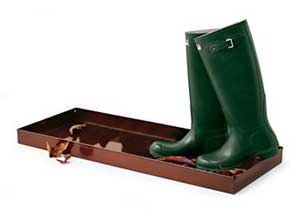 Bronze Boot Tray