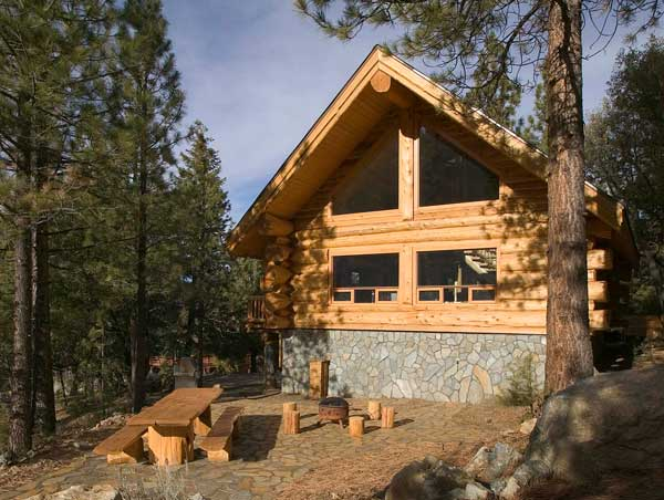 Favorite small log cabins for Www loghome com