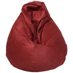 Ultrasuede Beanbag Chair