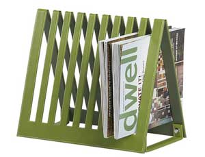 Crate & Barrel folding magazine rack