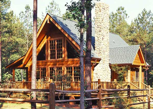 Favorite small log cabins for Montana style house plans