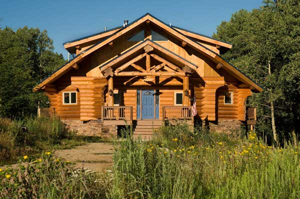 New Mexico Log Cabin