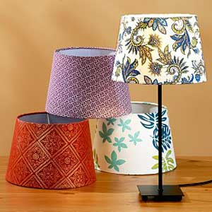 World Market's Manvi lamp shade