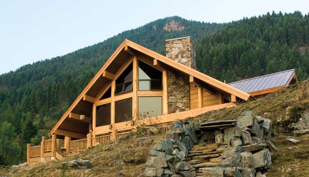 A Handcrafter Mountain Retreat - Exterior