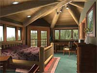 Eagles Nest Bedroom