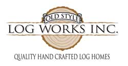 Old Style Log Works logo
