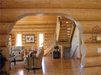 Radovich Log Homes - Entry