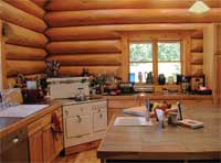 Radovich Log Homes - Kitchen
