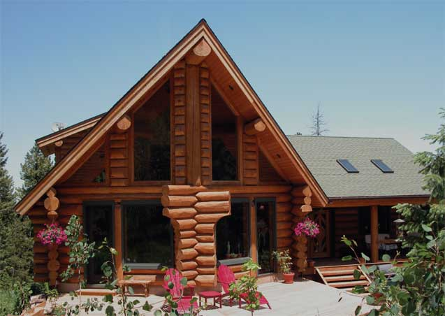 Radovich Log Homes - Exterior