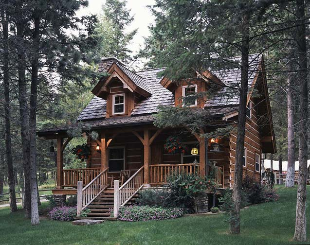 log cabin, Jack Hanna, guest house