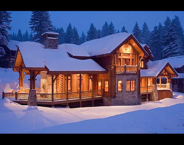 precisioncraft log home