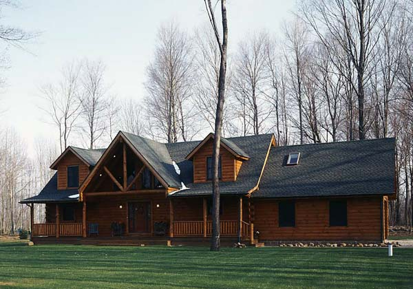 Real Log Homes Cabin