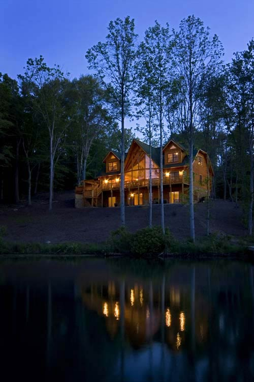 Suwannee Log Home