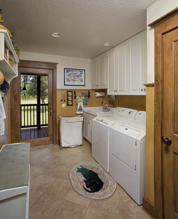 Photos of a florida log home sunshine state of mind for House plans with mudroom and laundry room
