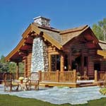 Small Log Home, Echoing the Past