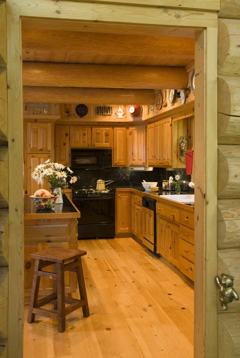 Side Entrance to Cabin Kitchen