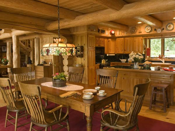 Dining Room and Cabin Kitchen Area