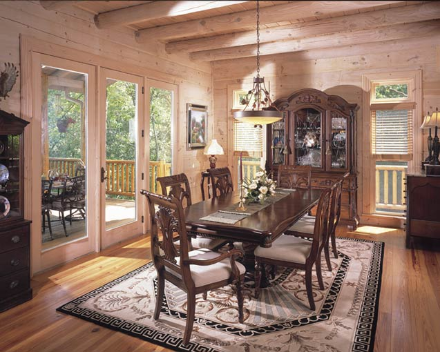 Rustic and Elegant Dining Room