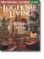 Log Home Living - December 2004