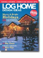Log Home Design Ideas - December 2004