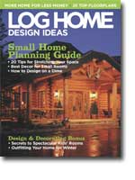 Log Home Design Ideas - January 2005 Issue