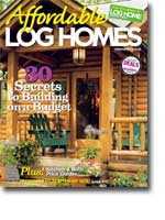 2005 August Log Home Design Ideas