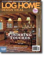 Buy the September Issue of Log Home Design Ideas