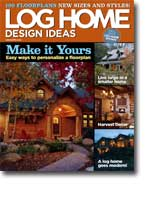 2005 October Log Home Design Ideas