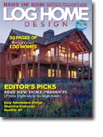 2006 February Log Home Design