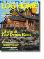 2006 - March - Log Home Design