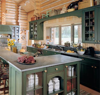 Log Home Kitchen Tips