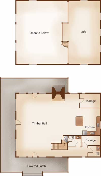 Timber Home Living - Floorplans