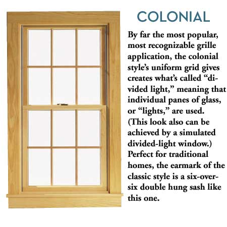 Colonial Window
