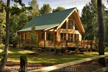 Photo: Southland Log Homes | The Rockbridge Model