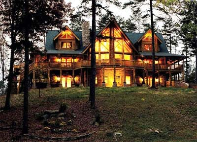 Barna Log Homes | Sierra Log Home