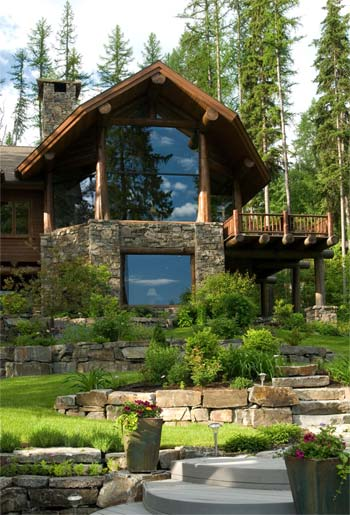 Best Window Design | Edgewood Log Structures