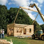 Building a Log Guesthouse