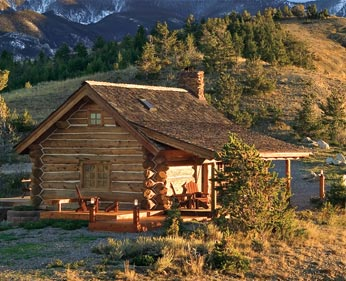 Log home style cabin cottage log home living for Log cabin styles