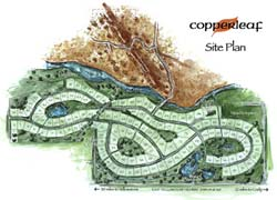 Copperleaf Site Plan | Click for Larger View