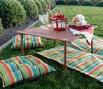 Foldtable Table by Crate and Barrel