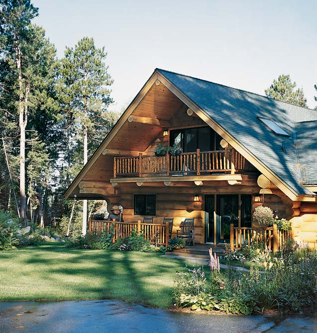 Lakeside Log Home | Andersen Log Homes