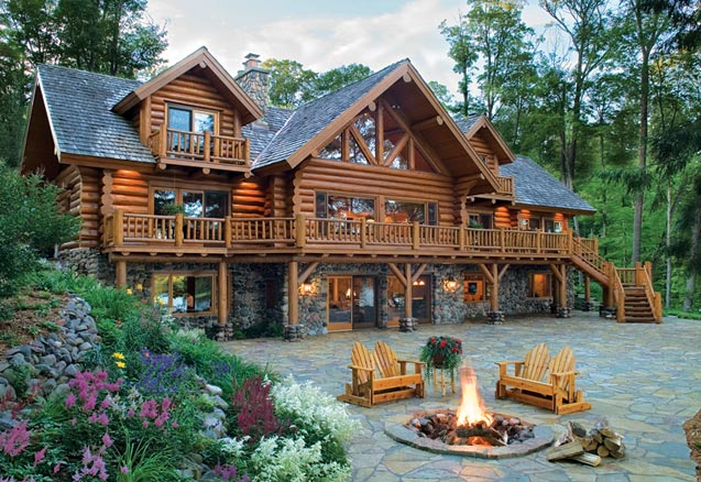 Classic Log Home | Old-Fashioned Cabin