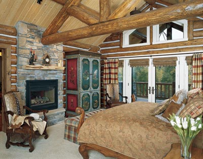 log home decor